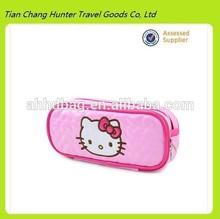 new style hello kitty pencil bag,portable cosmetic bag,custom cute pencil bag