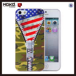 for custom printed iphone 5s case, camouflage image printing