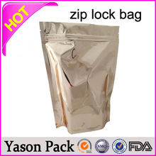 YASON stand up zipper packaging pouch stock/inventory kush klimax caution scooby snax foil ziplock bags stand up zip bag