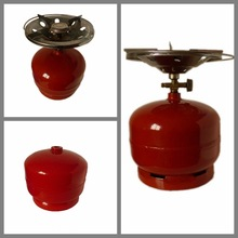 Customized DesignCooking or Camping 12.5kg LPG Cylinder Cooking Gas Tank