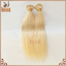 Wholesales Factory Price High Quality Mixed Length Remy Human Hair Color 613 Peruvian Straight Blonde Virgin Hair Weave