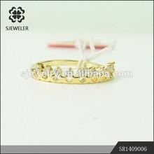 Hot Promo Engagement CZ Diamond 2 Gram Gold Ring