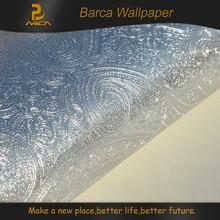 Beautiful new interior special decorative glitter 3D gold foil wall paper