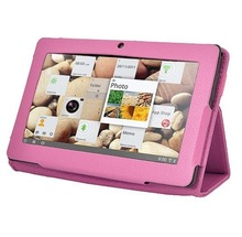 2015 New Product PU Leather Shock Proof 8 Inch Tablet Smart Cover Case