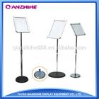 Poster Display Stand ,Standing Display Rack, Foor Menu Stand