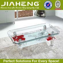 Factory sales directly modern design glass tea table design