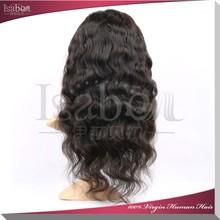 Isabel hair Alibaba china human hair wig full lace wig brazilian vinrgin hair u part wig