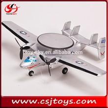 Hot sale 2CH RC airplane AWACS Falcon Jet E-2 jet engine model airplane