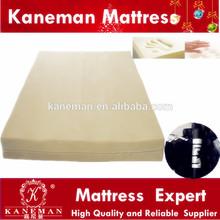 Comfort portable back belt bag compressed velvet fabric cover memory foam mattress