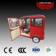 E tuk tuk passenger use closed body electric tricycle auto rickshaw