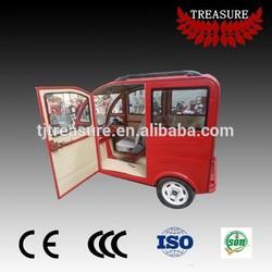 E tuk tuk passenger use closed body electric tricycle auto rickshaw