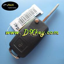 Big discounts 2+panic buttons vw remote key case flip remote key cover key case vw