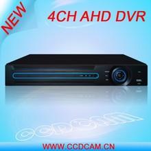 High quality images 960H H.264 CCTV 4ch HD AHD DVR