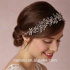 Top Quality, Luxury, Gold, Silver, Rhinestone Crystal Stone Hair Band