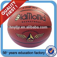 PU material Balls PU sport basketball for fun