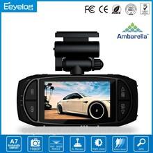 Motion dection 2.7inch lens wide view g sensor motion detection 1080p car IR 1080p car dvr camera