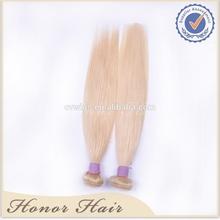 No tangle no shedding full cuticle virgin peruvian remy hair,blonde hair bundles