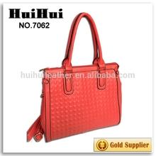 2015 latest design bags women handbag promotional cotton bag with die cut handle customized metal tag bag rectangle