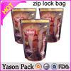 Yason re-open hologram mylar foil tamper ziplock bag ziplock mini bag freezer reclosable zipper bag