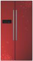 frost free geladeira de porta dupla com máquina de gelo