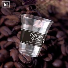 R360Y-T PLA 12oz 360ml plastic disposable - cup coffee