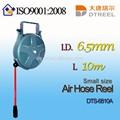I. D. L 6.5mm 10m dts-6810a pequeño tamaño de la manguera de aire desechables carrete de la manguera de la cachimba