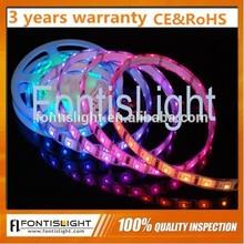 IP65 ws2811 RGB 5050 LED Strip DC12v Input / IP68 addressable ws2812