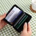La moda corea del estilo creativo de búho cuadrados con cremallera monedero cambio/bolsa de la cartera