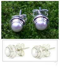 fashion fingernail earring posts