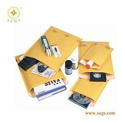 5.5X10 Inch Jiffy Mailing Bag Yellow Kraft Paper Bubble Mailer 5.5X10'' Kraft Shipping Bag