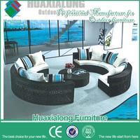 Outdoor garden rattan sofa italy style classical design sofa furniture furniture cambodia FWC-253