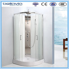 4mm/5mm clear glass,chromed aluminum profile ,stable shower enclosure/curved shower cabinet/shower room