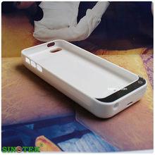 SINOTEK external power battery case 4200mAh portable battery charger case for iphone 5s 5c 5