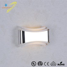 B30004-6W interior lighting Popular lamp fixture up and down light chrome indoor wall sconce