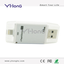 Hot sale pendrive 16G 32G 64G for iphone 6/plus mobile phone usb flash drive 16gb