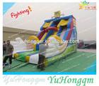 happy toys giant inflatable spongebob slide,Spongebob slides,Inflatable sponge bob slide sale