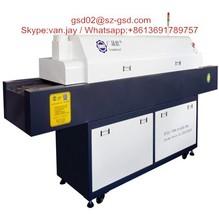 10 zona di saldatura reflow macchina per produzione di illuminazione a led