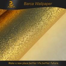 3D gold foil design wall paper rolls popular house decoration wholesale