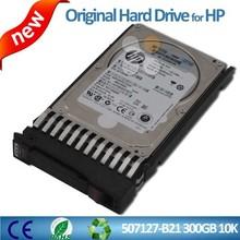 Hot sale for HP server hdd 507127-B21 507284-001 300G 6G 2.5 SAS 10K hot-plug