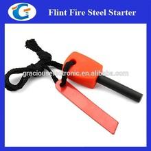 Camping Flint Survival Lighter Striker Fire Kit for Emergency Preparedness