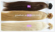 New 6A grade u tip prebonded hair extenion