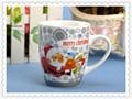 personalizado de promoción taza de cerámica con el logotipo de