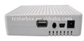 Hot pas cher mini dvbs2 mpeg4 c / ku marque satellite truman numérique récepteur satellite