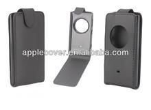 Black business style Leather flip case for nokia lumia 1020,for nokia lumia 1020 case