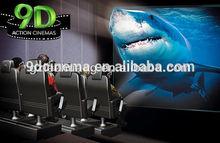 2015 newest crazy motion 9D Cinema Platform for sale