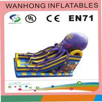 Funny water slide , combo slide , gigantic octopus inflatable slide