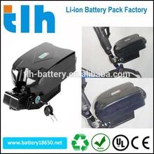 Li(NiCoMn)O2 e-bike battery pack 36v li battery with frog case