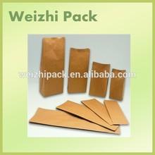 Alibaba China Manufacturing custom printing Recycled Brown kraft paper bag