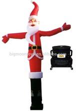 2015 hot advertising inflatable santa air dancer