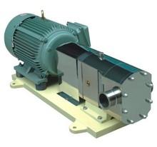 Stainless Steel Lobe Pump Hygienic Rotor Pump Food Grade Positive Displacement Pump for High Viscosity Liquid